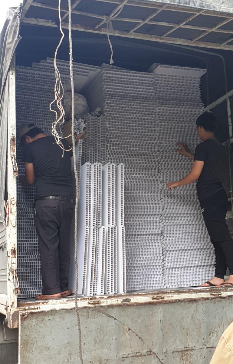 trần nhựa nhà máy thủy sản
