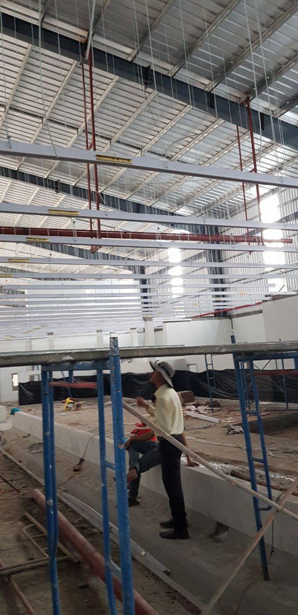 cung cấp trần nhựa nhà máy thủy sản