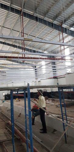 thi công tấm nhựa công nghiệp nhà máy thủy sản